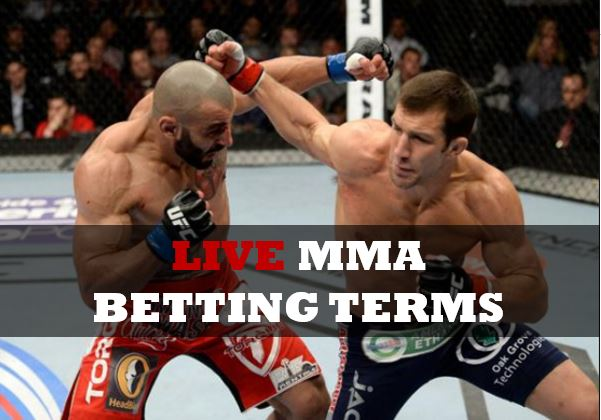 Inplay MMA betting