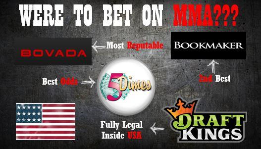 MMA USA Sportsbooks